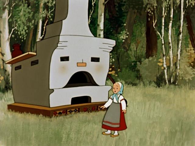 мультфильм Гуси-лебеди