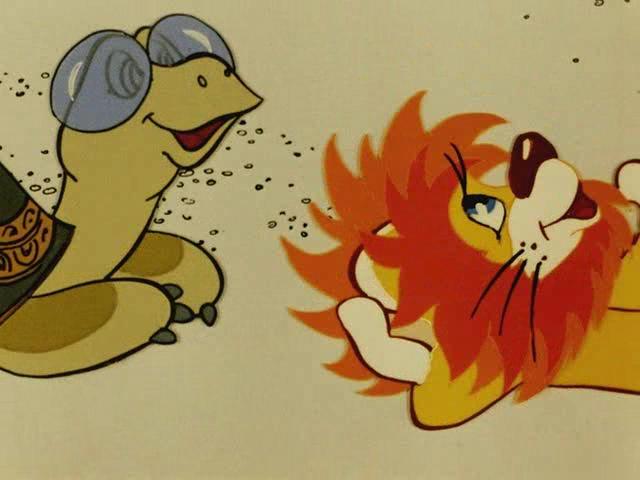 мультфильм Как львёнок и черепаха пели песню