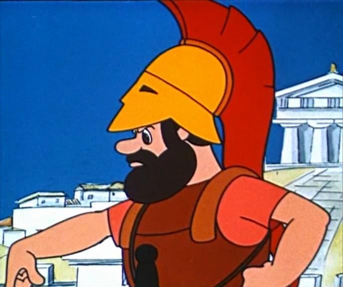 мультфильм Коля, Оля и Архимед