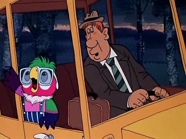мультфильм Возвращение блудного попугая