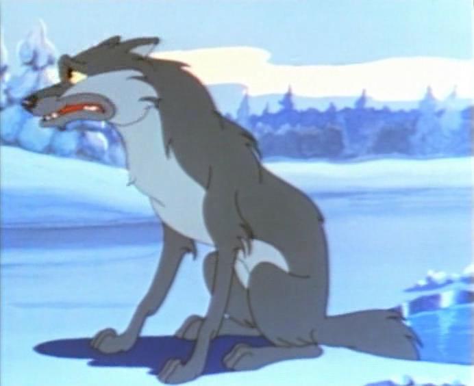 мультфильм Лиса и волк