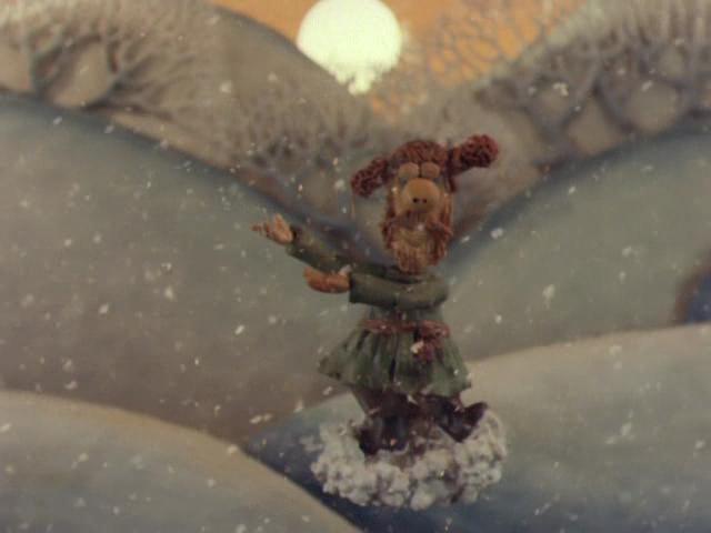 мультфильм Падал прошлогодний снег