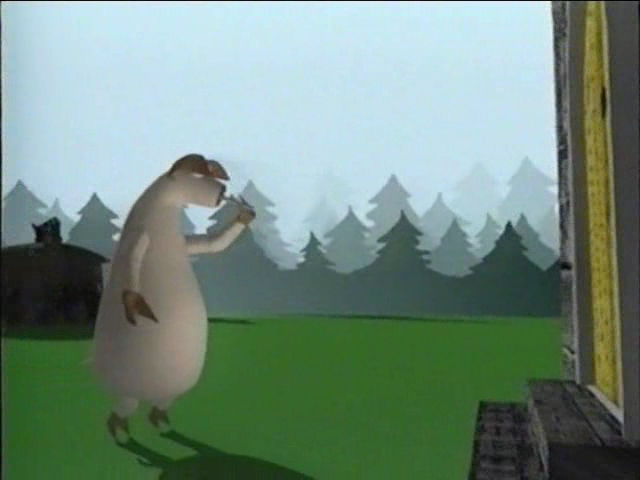мультфильм Три поросёнка
