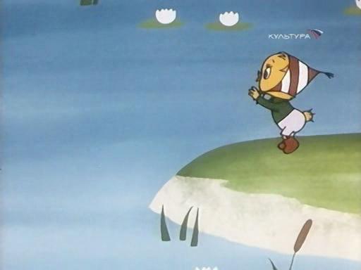 мультфильм Утёнок, который не умел играть в футбол